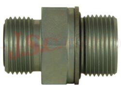 A502036-..... přípojka přímá (GES) se závity ORFS-UNF / metrický, kovogum. těs.