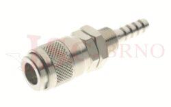 119 - rychlospojka zásuvka panelová s vývodem pro hadice - DN 5,0mm