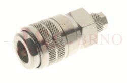 164 - rychlospojka zásuvka s vývodem na trubičku - DN 7,5mm