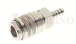 165 - rychlospojka zásuvka s vývodem pro hadice - DN 7,5mm