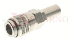166 - rychlospojka zásuvka s vývodem pro hadice - DN 7,5mm
