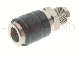 184 - rychlospojka zásuvka s vývodem na trubičku - DN 5,0mm