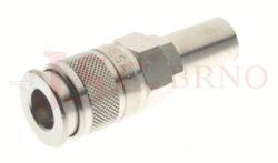 196 - rychlospojka zásuvka s vývodem pro hadice - DN 5,5mm