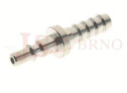 205 - rychlospojka zástrčka s vývodem pro hadice - DN 2,5mm