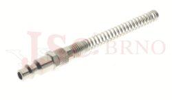 223 - rychlospojka zástrčka s vývodem na trubičku a pružinou - DN 5,5mm