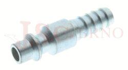 225AC - rychlospojka zástrčka ocelová s vývodem pro hadice - DN 5,5mm