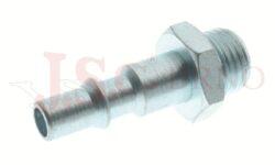 241AC - rychlospojka zástrčka ocelová s vnějším závitem - DN 5,5mm