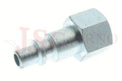 252AC - rychlospojka zástrčka ocelová s vnitřním závitem - DN 5,0mm