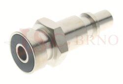 257 - rychlospojka zástrčka bajonetová - DN 5,0mm