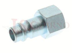 262AC - rychlospojka zástrčka ocelová s vnitřním závitem - DN 7,5mm