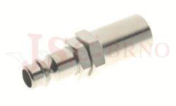 266 - rychlospojka zástrčka s vývodem pro hadice - DN 7,5mm