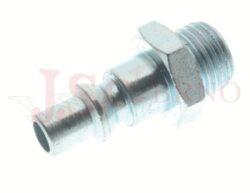 271AC - rychlospojka zástrčka ocelová s vnějším závitem - DN 5,5mm