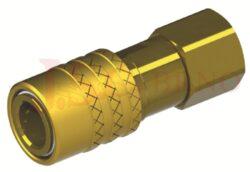 462SW - rychlospojka zásuvka bez uzávěru s vnitřním závitem - DN 6,0mm