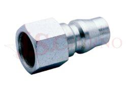 502AC - rychlospojka zástrčka ocelová s vnitřním závitem - DN 7,5mm