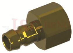 562 - rychlospojka zástrčka s vnitřním závitem - DN 6,0mm