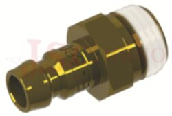 571 - rychlospojka zástrčka s vnějším závitem - DN 9,0mm