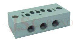 05V B5... samostatná deska pro 1x VDMA2 - 18mm ventil