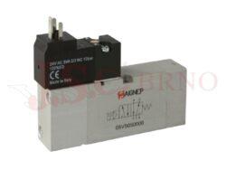 05V S0 5... - elektromagnetický ventil 5/2 jednocívkový -monostabilní s pružinou
