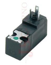 07V 20 3... mini solenoidový 15mm ventil 3/2 na patici