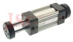 Válec NQA.... ISO 15552 řada N - dvoučinný, s magnetem a tlumením, 2 pístní tyče