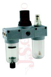 T200 MINI - regulátor tlaku s filtrem a přimazávačem (velikost F+R+L 0)