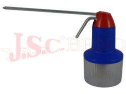 Stříkací olejnička 02 plastová, 300ccm, modro-červená, spoušť na ukazováček