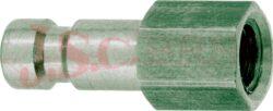 ESMC.....NI - rychlospojka zástrčka s vnitřním závitem - DN 2,7mm