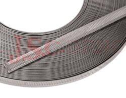 NORMETTA..... stahovací páska a uzávěr (rozměry v mm)