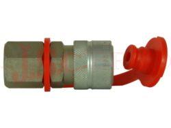 PCJ5.xxxx.002 (012) zásuvka s vnitřním závitem BSP, NPT (1000 Bar)