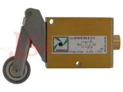 214/2.xx.2.1/1 mechanicky ovládaný ventil s kladičkou a vratnou pružinou