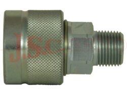 PVM3.xxxx.022 šroubovací zásuvka, vnější NPT závit (1000bar)