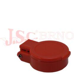 SPPV.13342 zaklapávací červená krytka kuličkové zásuvky vel.3