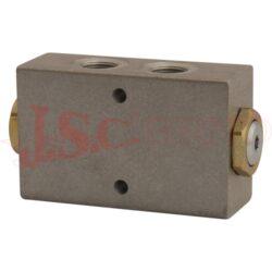 VPDE..... hydraulický zámek s vnitřními palcovými závity