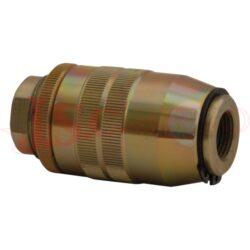 VRF..... škrtící ventil jednosměrný s vnitřními palcovými závity, oválný